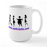 Sisterhood of the Mommie Patr Large Mug
