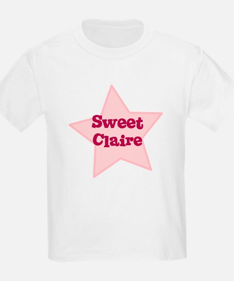 Sweet Claire Kids T-Shirt