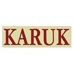 Karuk Tribe Bumper Sticker (10 pk)