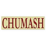 Chumash Tribe Bumper Sticker (10 pk)