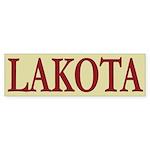 Lakota Tribe Bumper Sticker (10 pk)