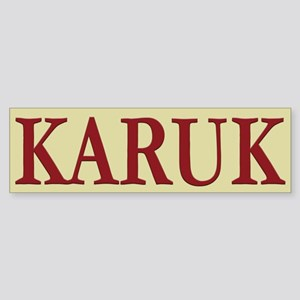 Karuk Tribe Bumper Sticker