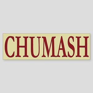 Chumash Tribe Bumper Sticker
