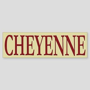 Cheyenne Tribe Bumper Sticker