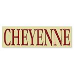 Cheyenne Tribe Bumper Sticker (10 pk)