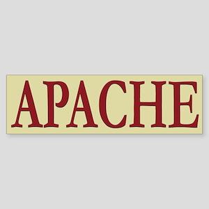 Apache Tribe Bumper Sticker