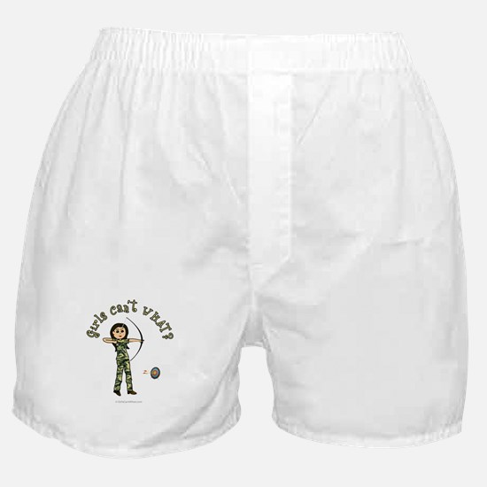 Light Camouflage Archery Boxer Shorts