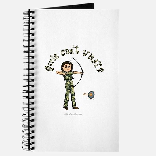 Light Camouflage Archery Journal