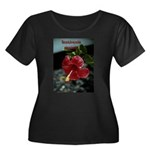 What you think Women's Plus Size Scoop Neck Dark T