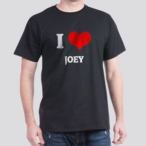 I Love Joey Black T-Shirt