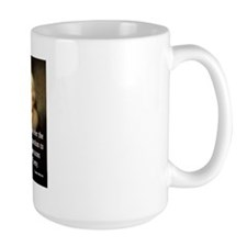 Jefferson, Timid Men Large Mug