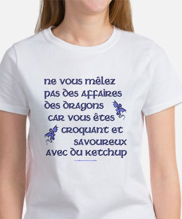Affairs of French Dragons Women's T-Shirt
