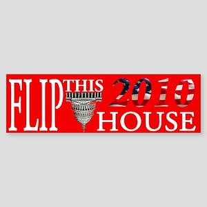 Flip This House Bumper Sticker