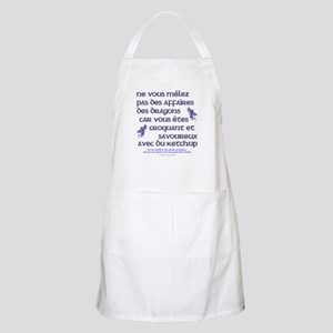 Affairs of French Dragons BBQ Apron