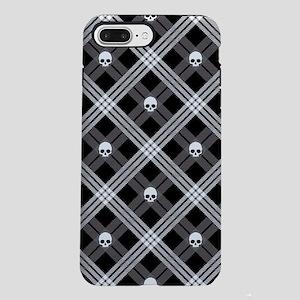 skull-plaid_sb iPhone 7 Plus Tough Case