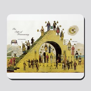 Steps of Freemasonry Mousepad