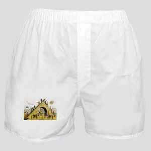 Steps of Freemasonry Boxer Shorts