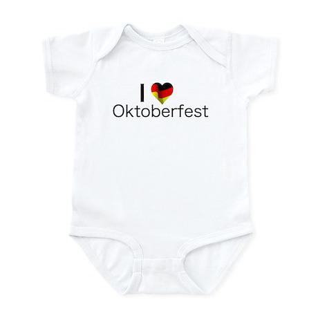 I Heart Oktoberfest Infant Bodysuit