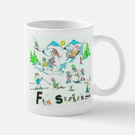 WINTER FUNSEEKERS Mug