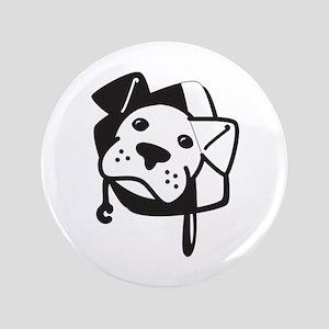"""BW Logo Stripped 3.5"""" Button"""