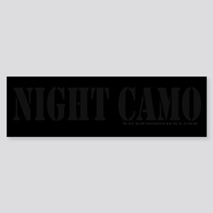 Night Camo Sticker