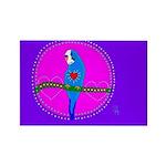 Parakeet Rectangle Magnet (100 pack)