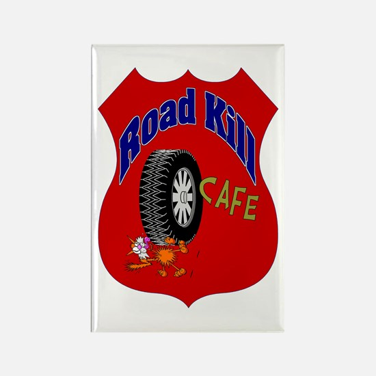 Road Kill Cafe Rectangle Magnet (10 pack)