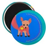 """Fox 2.25"""" Magnet (100 pack)"""