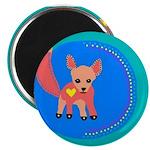 """Fox 2.25"""" Magnet (10 pack)"""