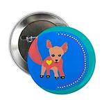 "Fox 2.25"" Button (100 pack)"