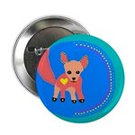 "Fox 2.25"" Button (10 pack)"