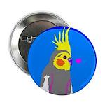 "Cockatiel 2.25"" Button (100 pack)"