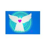Dove Rectangle Magnet (100 pack)