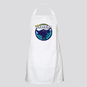 Distressed Rocky Mt Oysters BBQ Apron