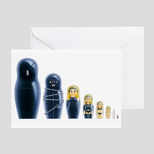 Fetish Russian Dolls Greeting Cards (Pk of 20)