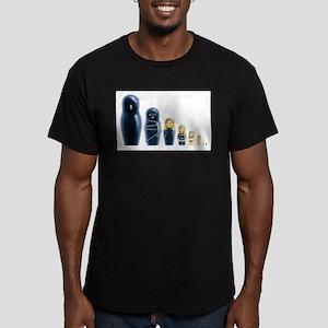 Fetish Russian Dolls Men's Fitted T-Shirt (dark)