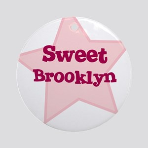 Sweet Brooklyn Ornament (Round)