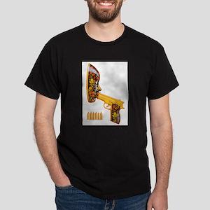 Russian Roulette (Safe Sex) Dark T-Shirt
