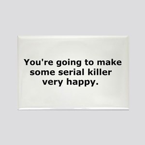 Serial Killer Rectangle Magnet