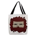 Anger Masque Polyester Tote Bag