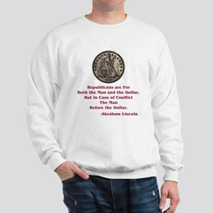 Seated Liberty Dollar -- Linc Sweatshirt