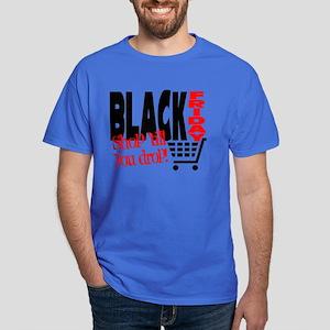 Black Friday Shopping Cart Dark T-Shirt