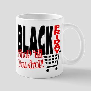 Black Friday Shopping Cart Mug