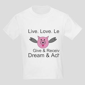 Flying pig kids t-shirt