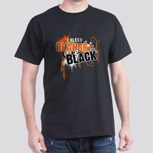 Orange & Black Dark T-Shirt