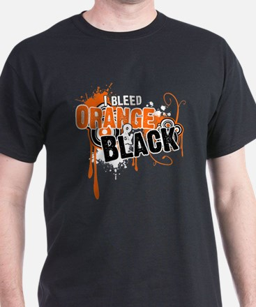 Orange & Black T-Shirt