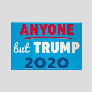 Anyone But Trump 2020 Rectangle Magnet