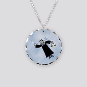 Notorious Justice Fairie Necklace Circle Charm