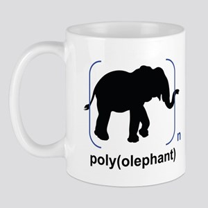 Polyolephant mug (two-sided)