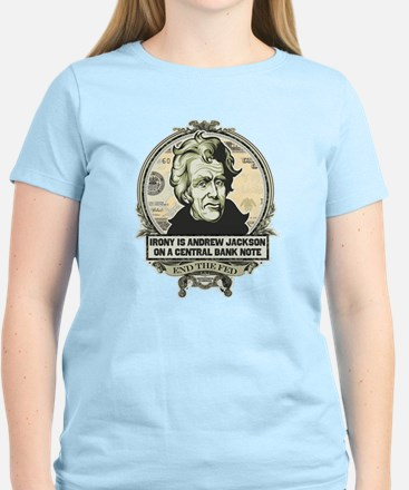 Irony is Andrew Jackson Women's Light T-Shirt